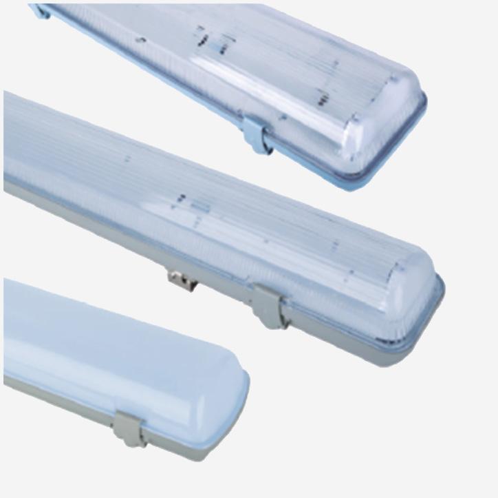Đèn LED Tube máng đôi chống ẩm - Bóng đèn LED KawaEco